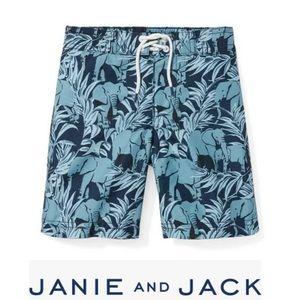 NWT Janie & Jack swim trunks
